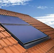 Solar thermal flat plate panel
