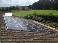 Solar PV at Berkshire MS Therapy Centre