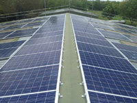 These panels will provide Dews Coaches with an additional income stream form the feed in tariff