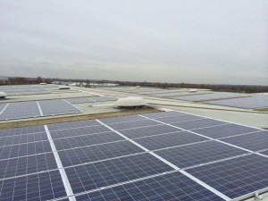 Commercial solar install in 2014