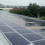 an example of solar PV for warehouses