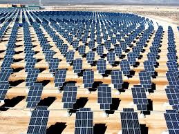 large scale solar power installations could be the best source of future energy