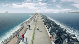 The world's first renewable energy lagoon, planned for UK shores